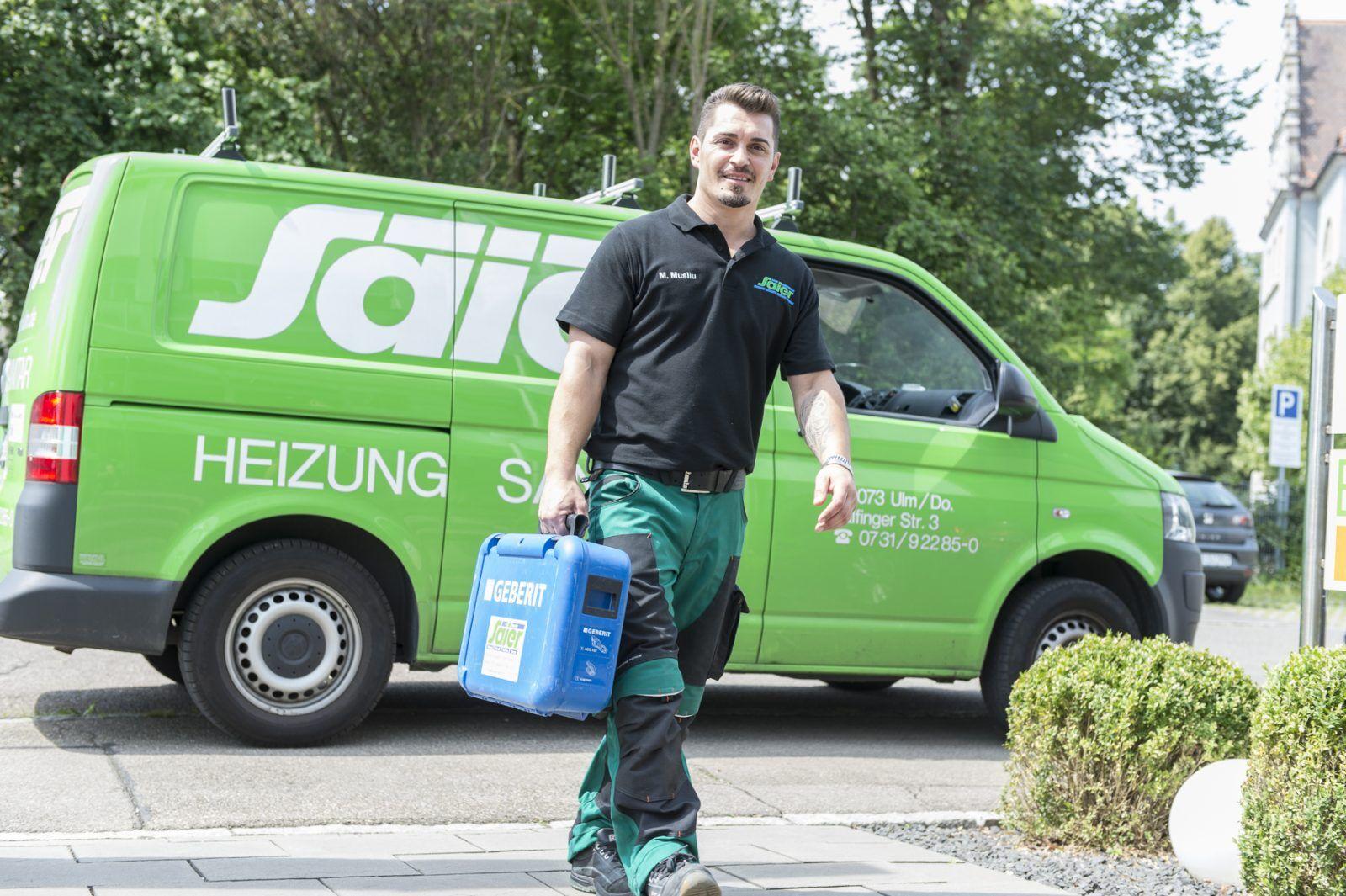 Saier Ulm Heizung Sanitär Wartung Service Monteur